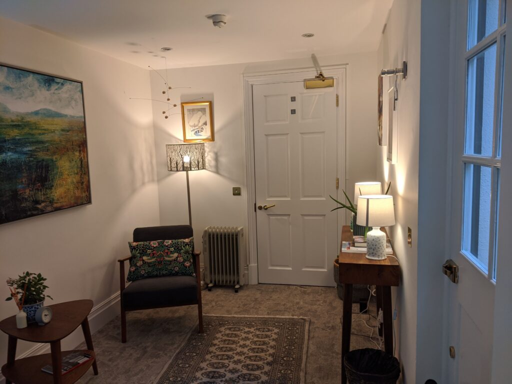 Counselling Room at 2 Eaton Gate